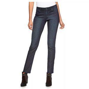 Jennifer Lopez Midrise Straight-Leg Jeans Size 10